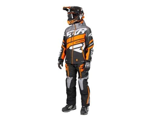 Комплект FXR Boost без утеплителя Black/Grey Fade/Orange 192836-1005