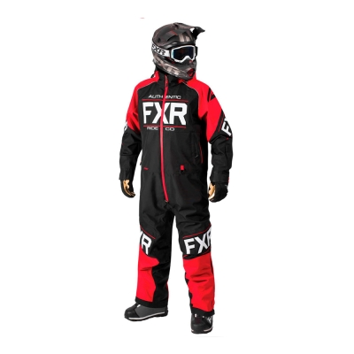Комбинезон FXR Clutch с утеплителем Black/Red 182812-1020