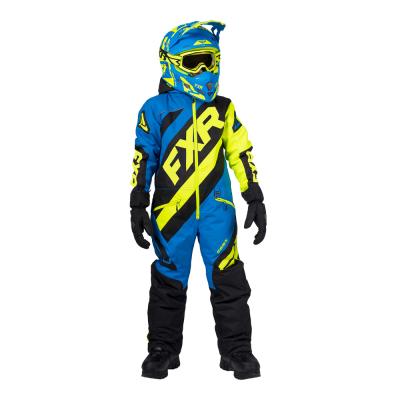Комбинезон FXR CX с утеплителем Black/Blue/Hi Vis 203000-1040