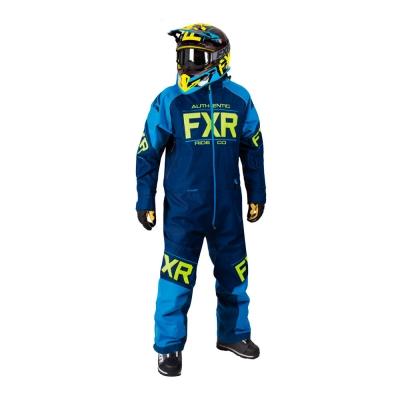 Комбинезон FXR Clutch с утеплителем Navy/Blue/Hi-Vis 182812-4540