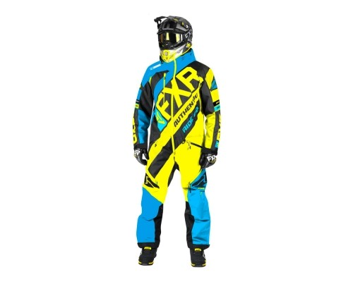 Комбинезон FXR CX с утеплителем Blue/Black/Hi Vis 192806-4065