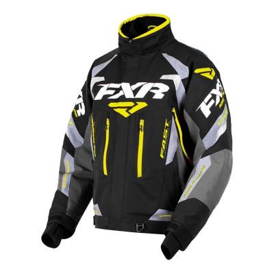 Куртка FXR Adrenaline с утеплителем Black/Char/Grey/Hi-Vis 180002-1065