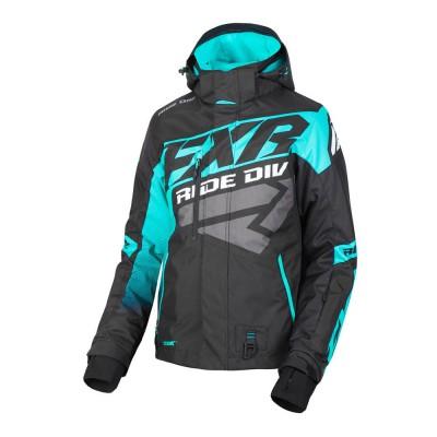 Куртка FXR CX с утеплителем Black/Mint 190221-1052