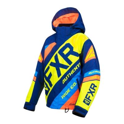 Куртка FXR CX с утеплителем Navy/Hi Vis/Orange/Blue 190423-4565