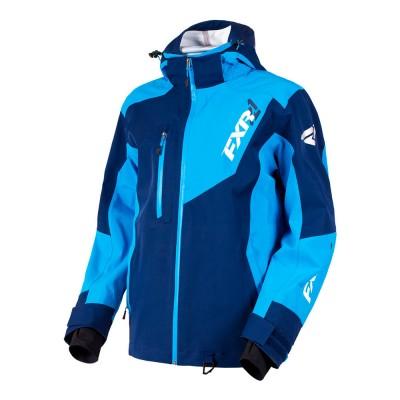 Куртка FXR Mission Trilaminate без утеплителя Navy/Blue 180014-4540