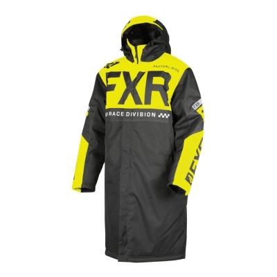 Пальто FXR Warm Up с утеплителем Black/Hi Vis 190033-1065