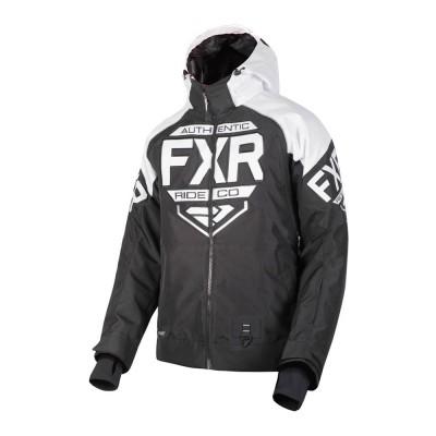 Куртка FXR Clutch с утеплителем Black/White 190011-1001