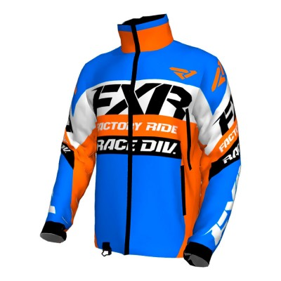 Куртка FXR Cold Cross Race Ready без утеплителя Blue/Orange/Black/White 180032-4030