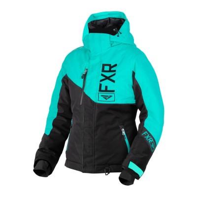 Куртка FXR Fresh с утеплителем Black/Mint 190206-1052