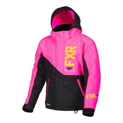 Куртка FXR Fresh с утеплителем Black/Elec Pink/Hi Vis 190419-1094