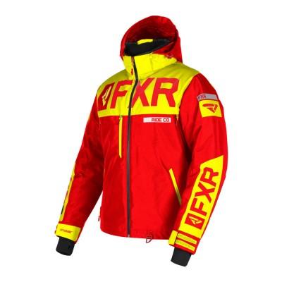 Куртка FXR Helium X с утеплителем Nuke Red/Hi Vis 190038-2365