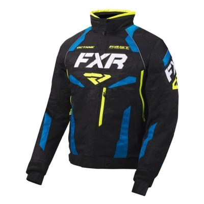 Куртка FXR Octane с утепленной вставкой Black/Blue/Hi Vis 200003-1040
