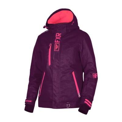 Куртка FXR Pulse без утеплителя Plum Linen/Coral 190227-8393