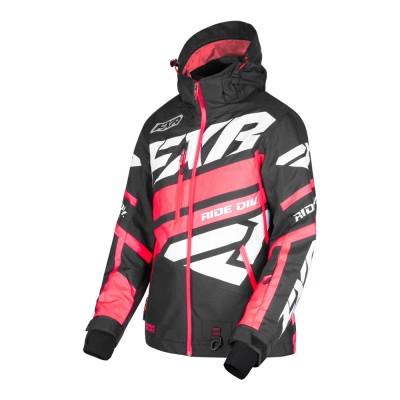 Куртка FXR Boost X с утеплителем Black/Coral/White 190224-1093