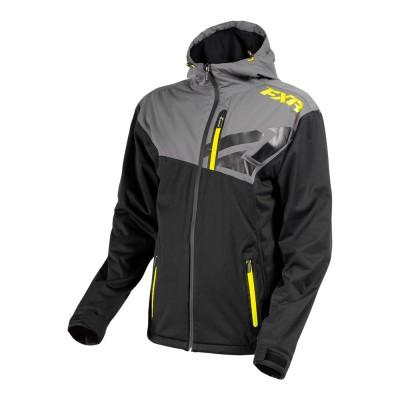 Куртка FXR Clutch без утеплителя Char Heather/Black/Orange 180908-0630