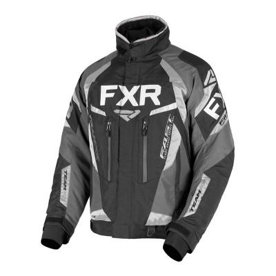 Куртка FXR Team FX с утеплителем Black/Char/Ti 190000-1008