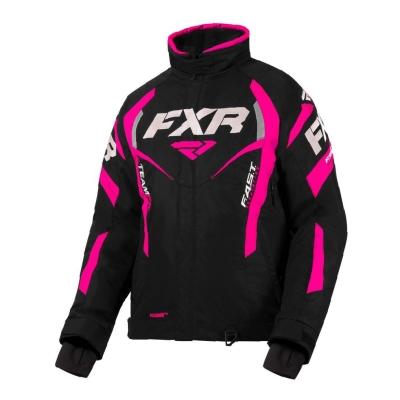 Куртка FXR Team RL с утепленной вставкой Black/Fuchsia 200204-1090