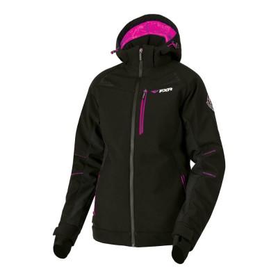 Куртка FXR Vertical Pro Softshell с утеплителем Black/Fuchsia 191007-1090
