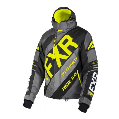 Куртка FXR CX с утеплителем Char/Black/Hi Vis 190021-0865