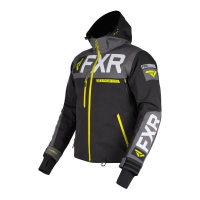 Куртка FXR Helium Pro X с утеплителем Black/Char/Hi Vis 190034-1065