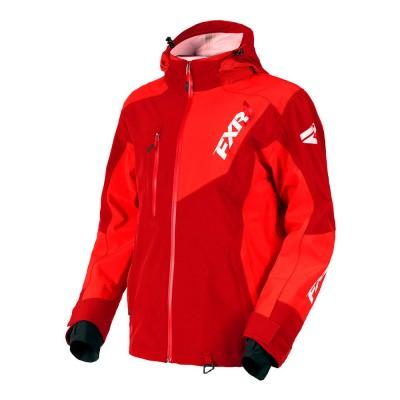 Куртка FXR Mission Trilaminate без утеплителя Maroon/Red 180014-2520