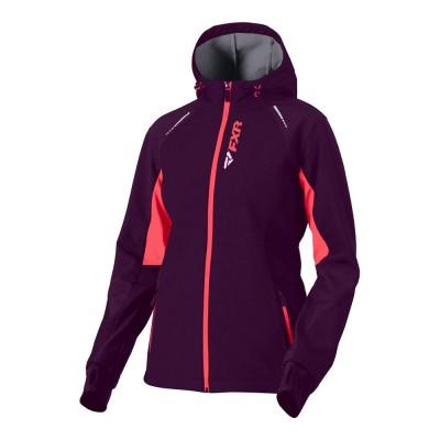 Куртка FXR Pulse без утеплителя Plum/Coral 191006-8293
