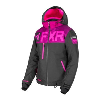 Куртка FXR Helium FX с утеплителем Black/Wineberry/Elec Pink 190216-1085