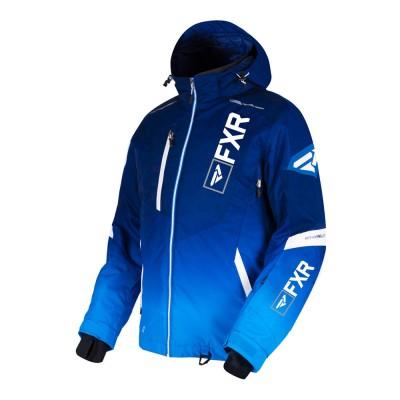 Куртка FXR Renegade X4 с утеплителем Navy Blue Fade/White LE 190013-4540