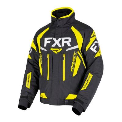 Куртка FXR Team FX с утеплителем Black/Hi Vis 190000-1065