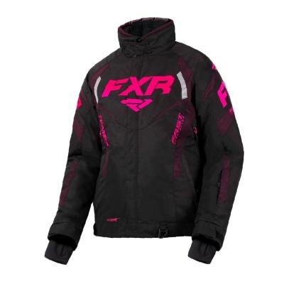 Куртка FXR Team RL с утепленной вставкой Black/Plum/Elec Pink 200204-1082