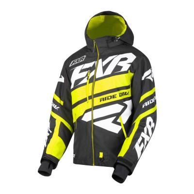 Куртка FXR Boost X с утеплителем Black/Hi Vis/White 190026-1065
