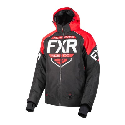 Куртка FXR Clutch с утеплителем Black/Red/White 190011-1020
