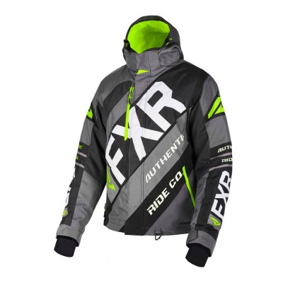 Куртка FXR CX с утеплителем Char/Black/Lime 190021-0870