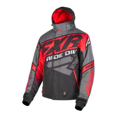 Куртка FXR CX с утеплителем Black/Char/Lava 190021-1022