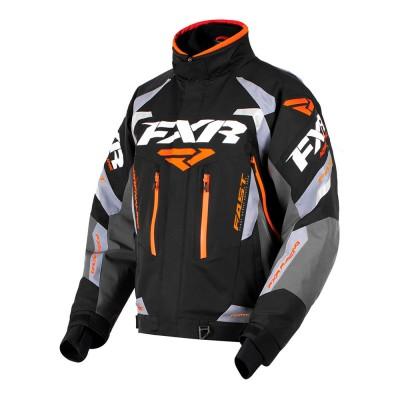 Куртка FXR Adrenaline с утеплителем Black/Char/Grey/Orange 180002-1030