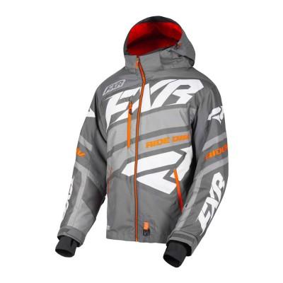 Куртка FXR Boost X с утеплителем Char/Grey/Orange 190026-0805