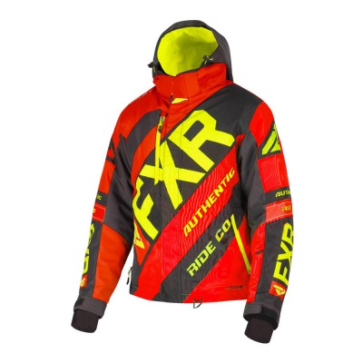 Куртка FXR CX с утеплителем Red/Black/Hi Vis 190021-2010