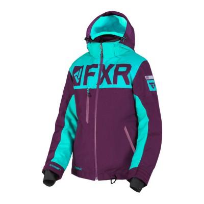 Куртка FXR Helium FX с утеплителем Plum/Mint 190216-8252