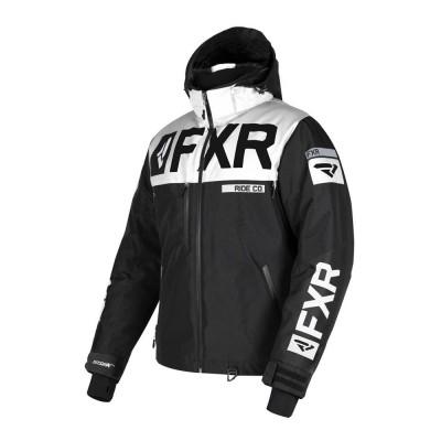 Куртка FXR Helium X с утеплителем Black/White 190038-1001