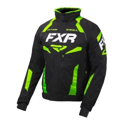 Куртка FXR Octane с утепленной вставкой Black/Lime 200003-1070