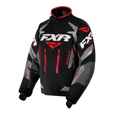 Куртка FXR Adrenaline с утеплителем Black/Char/Grey/Red 180002-1020