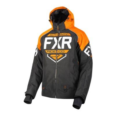 Куртка FXR Clutch с утеплителем Black/Orange/White 190011-1030