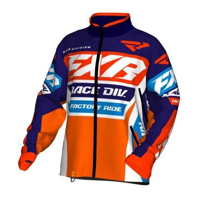 Куртка FXR Cold Cross Race Ready без утеплителя Navy/White/Orange/Nuke Red/Blue 190032-4501