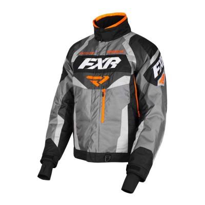 Куртка FXR Octane с утеплителем Grey/Black/Char/Orange 190003-0510