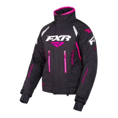 Куртка FXR Adrenaline с утеплителем Black/Fuchsia 190200-1090