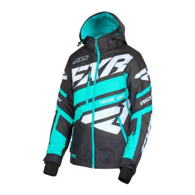 Куртка FXR Boost X с утеплителем Black/Mint/White 190224-1052