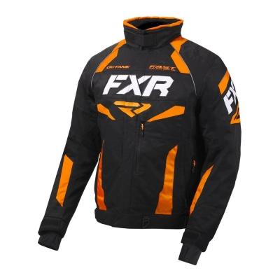Куртка FXR Octane с утепленной вставкой Black/Orange 200003-1030