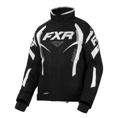 Куртка FXR Team RL с утепленной вставкой Black/White 200204-1001