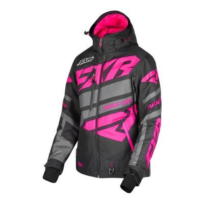 Куртка FXR Boost X с утеплителем Black/Char/Fuchsia 190224-1008