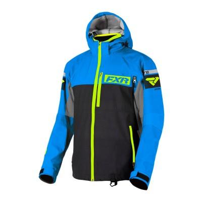 Куртка FXR Carbon без утеплителя Black/Blue/Hi Vis 182001-1040